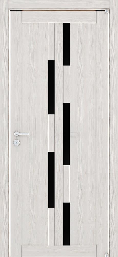 2198 капучино велюр (черное стекло)