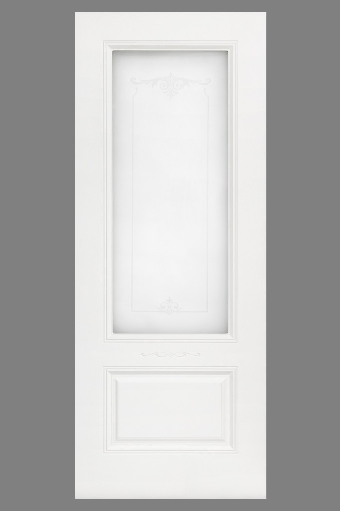 Аккорд 1 ДО узор 1 матировние , эмаль белая.